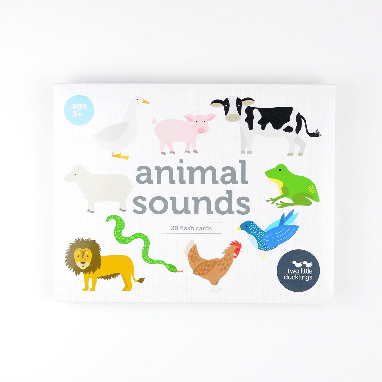 2LD Animal Sounds Flash Cards