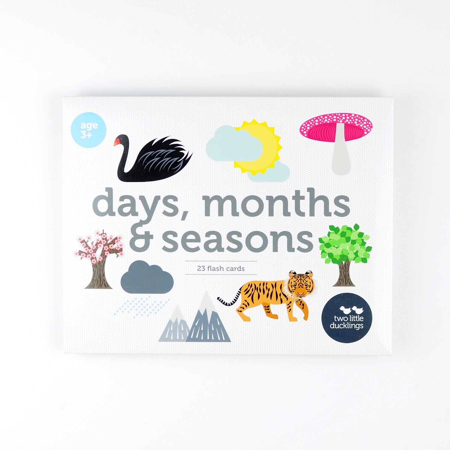 2LD Days, Months and Seasons Flash Cards