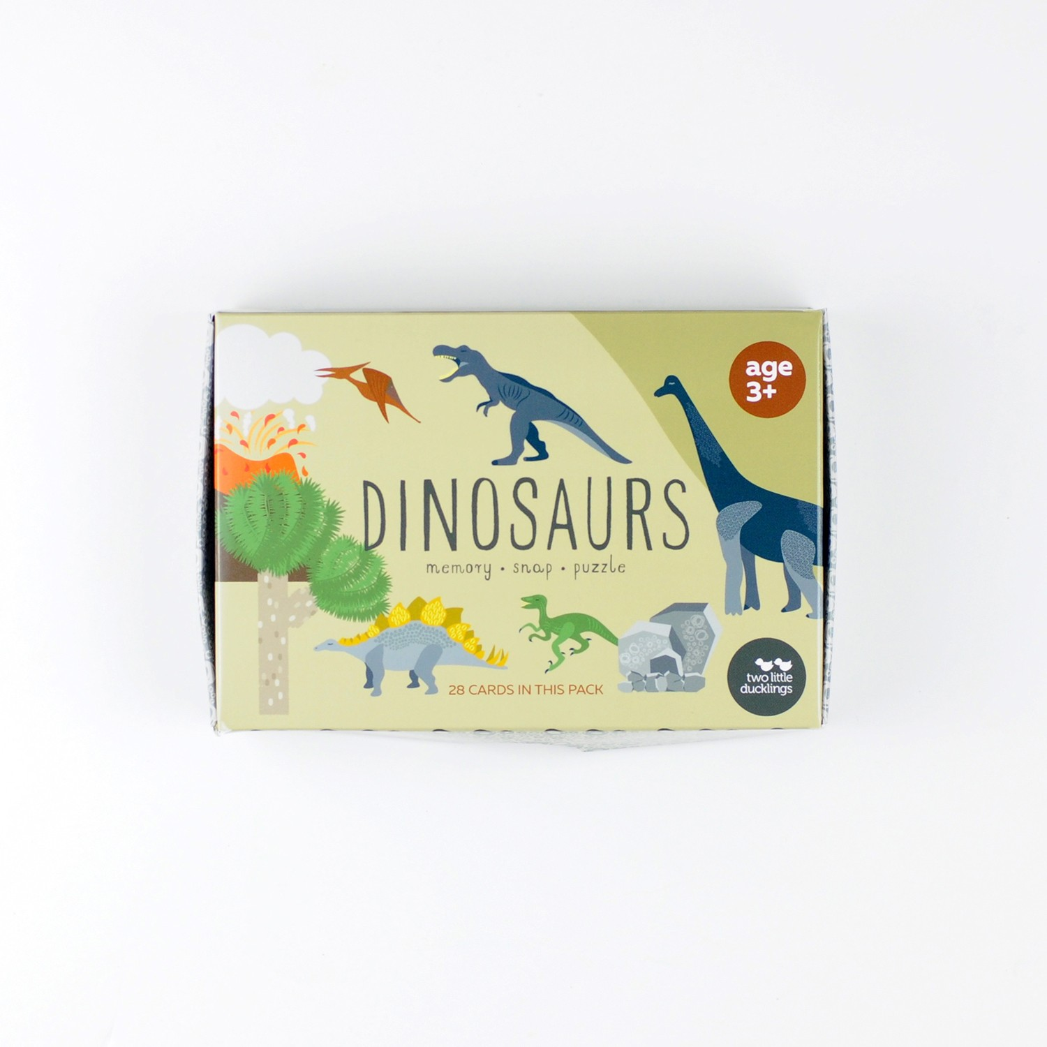 2LD Dinosaurs Snap, Memory and Puzzle Game