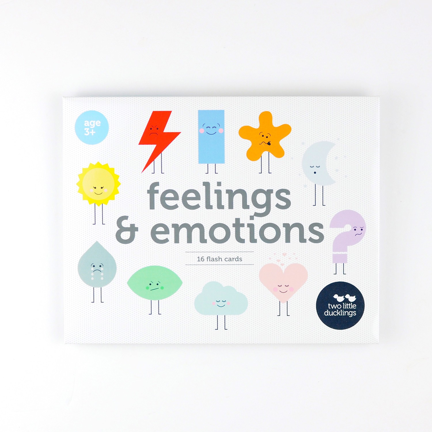 2LD Feelings and Emotions Flash Cards
