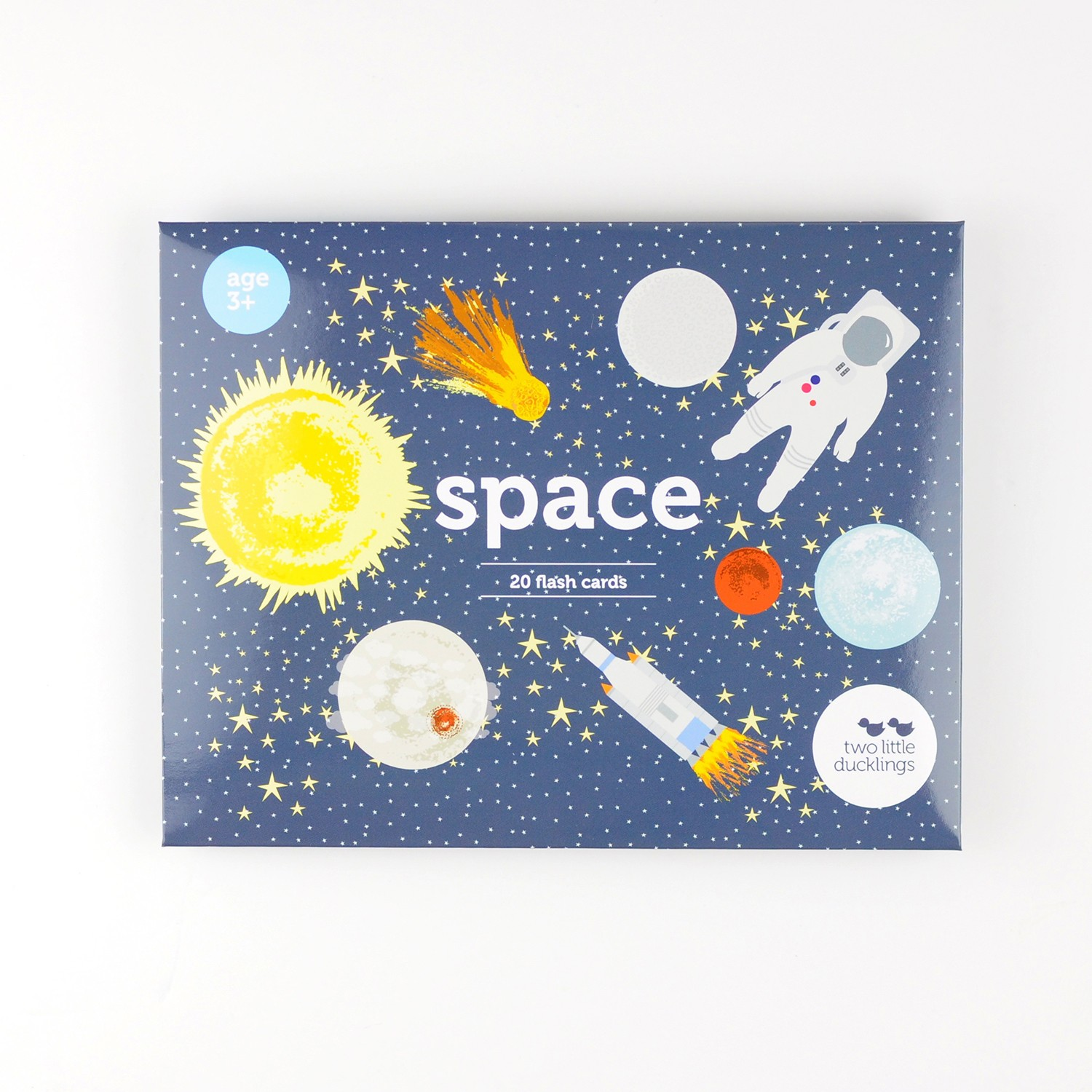 2LD Space Flash Cards