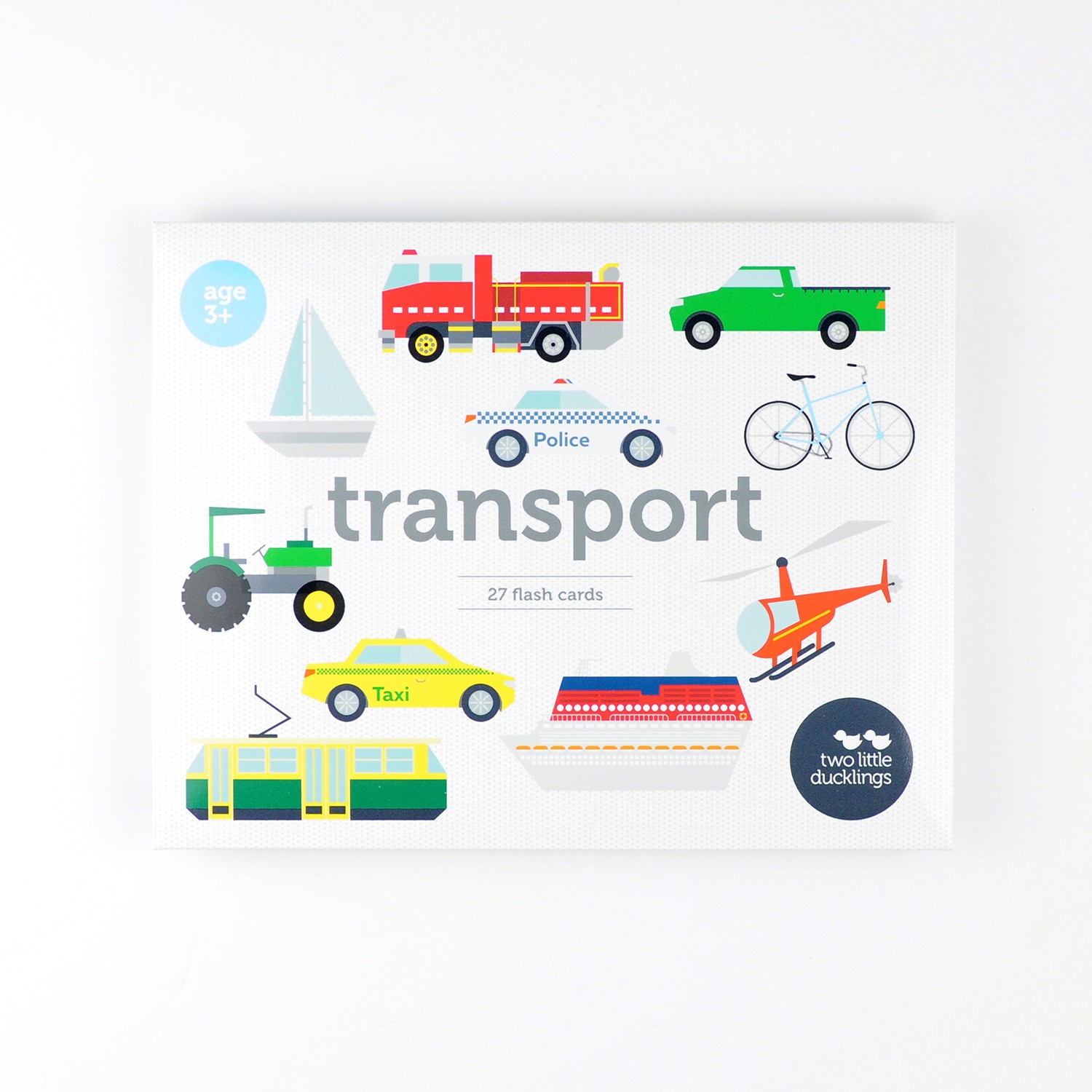 2LD Transport Flash Cards