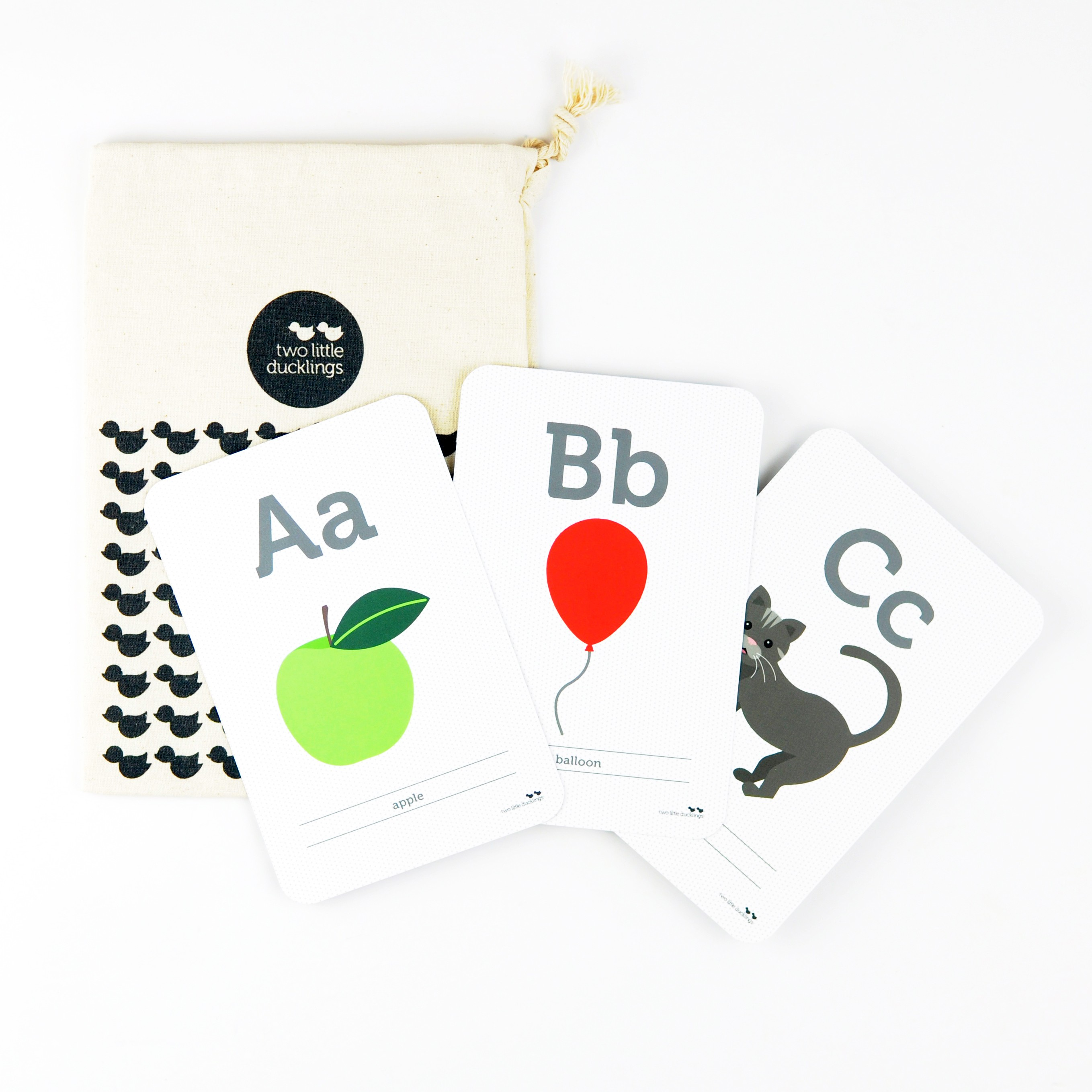 2LD Alphabet Flash Cards Inside