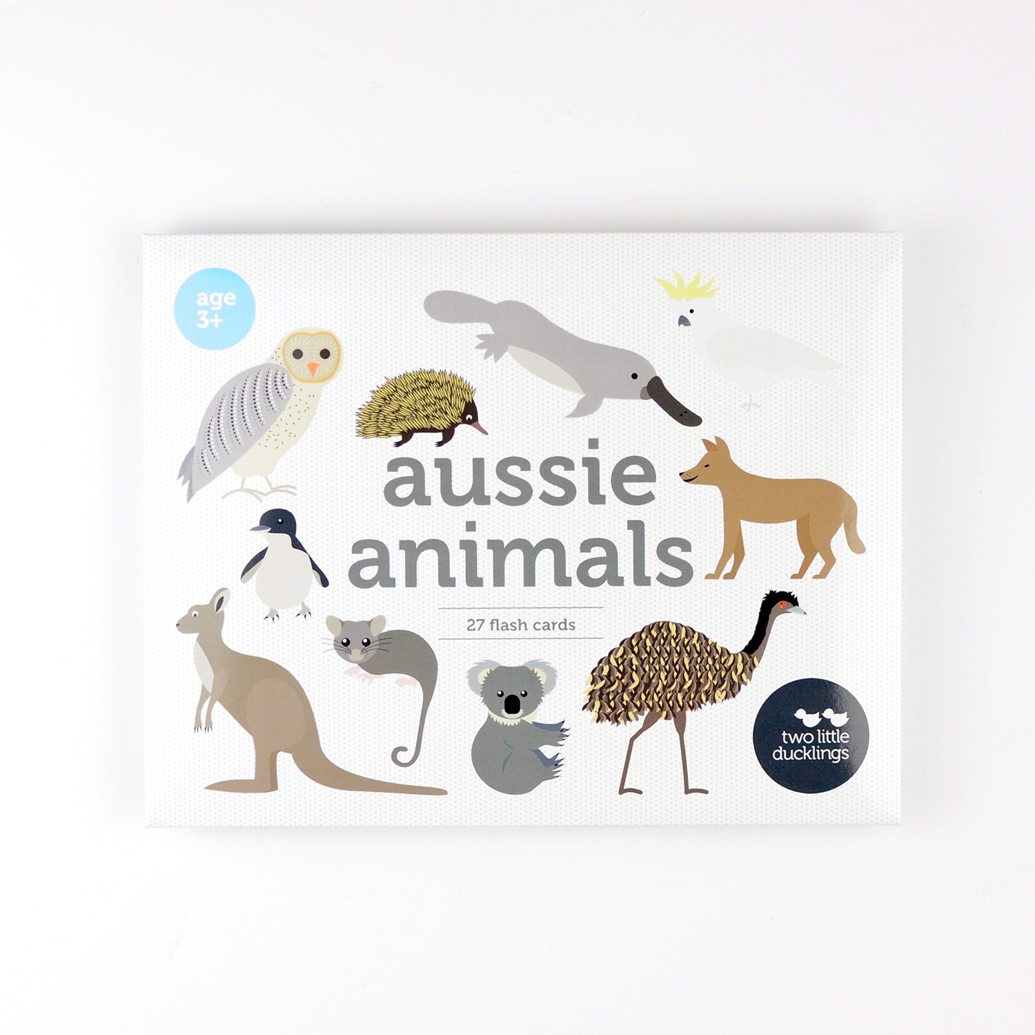 2LD Aussie Animals Flash Cards