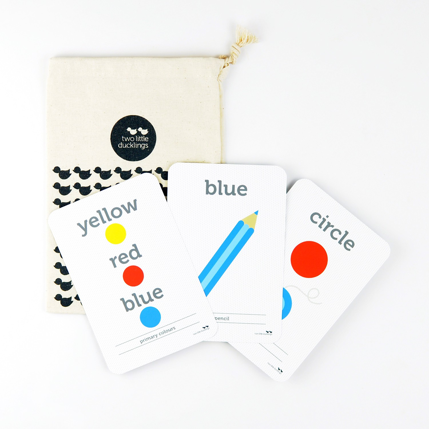 2LD Colours and Shapes Flash Cards Inside