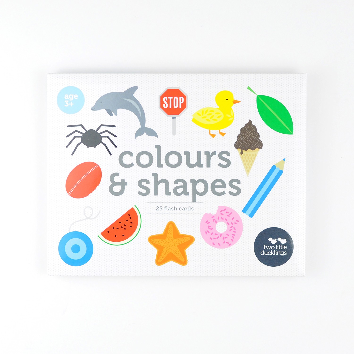 2LD Colours and Shapes Flash Cards