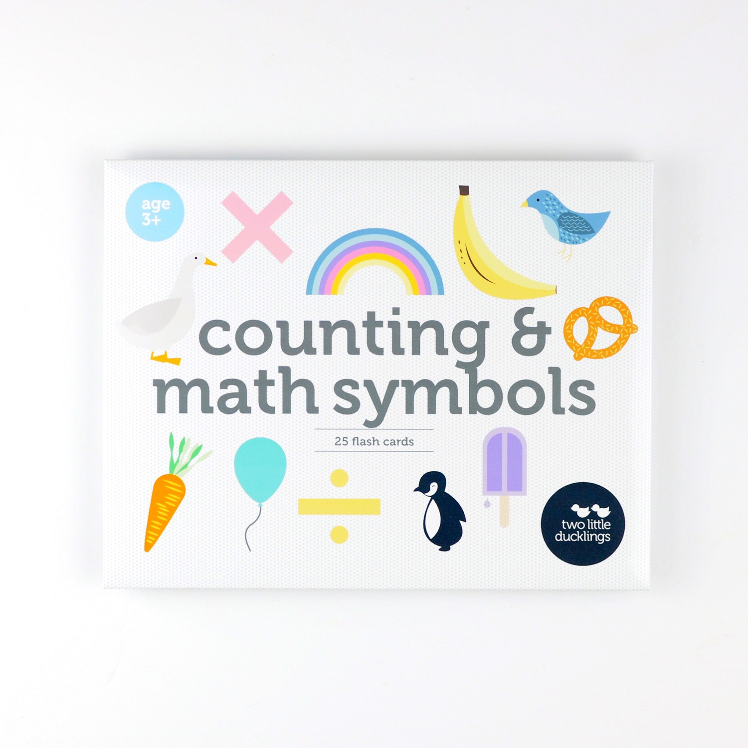 2LD Counting and Math Symbols Flash Cards