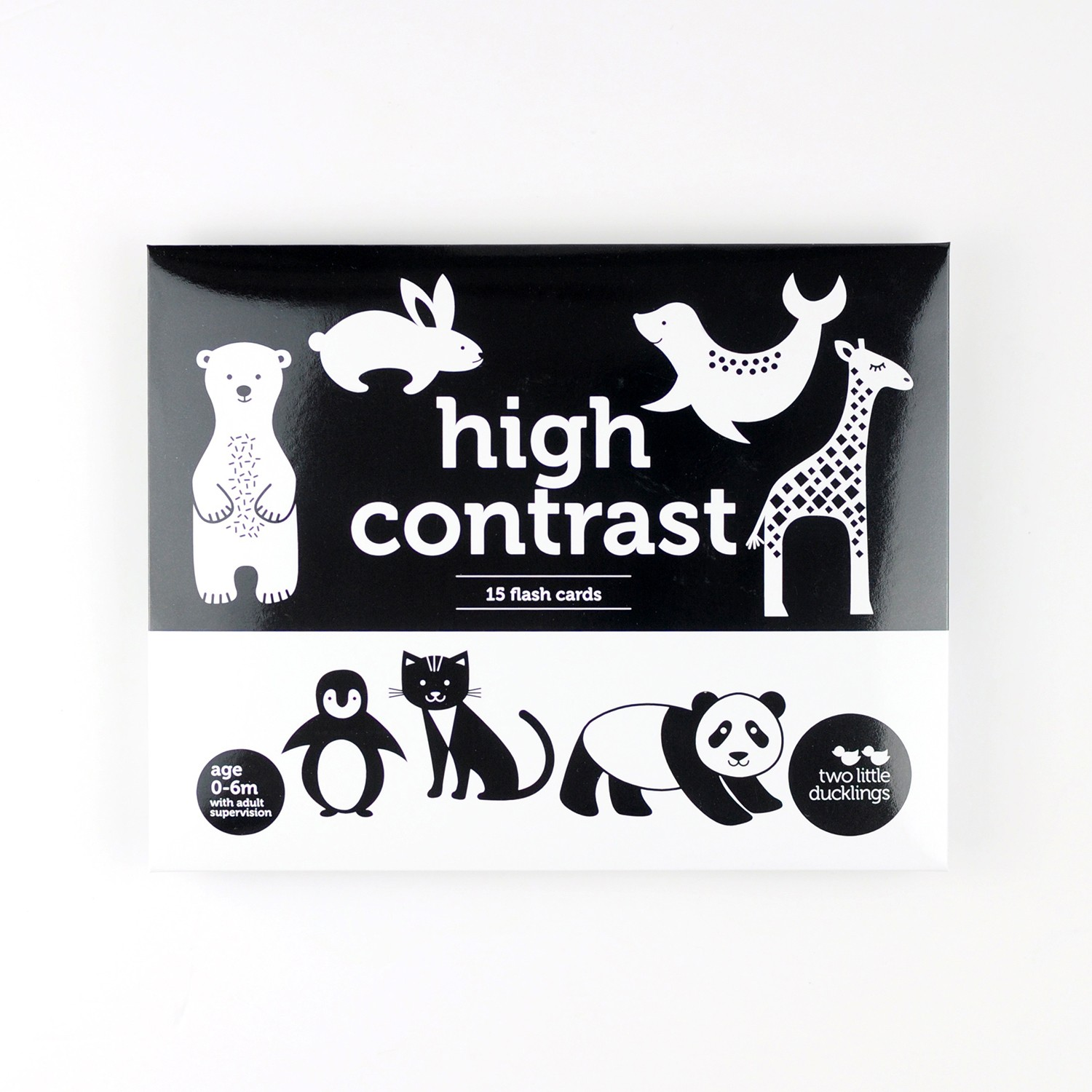 2LD High Contrast Flash Cards