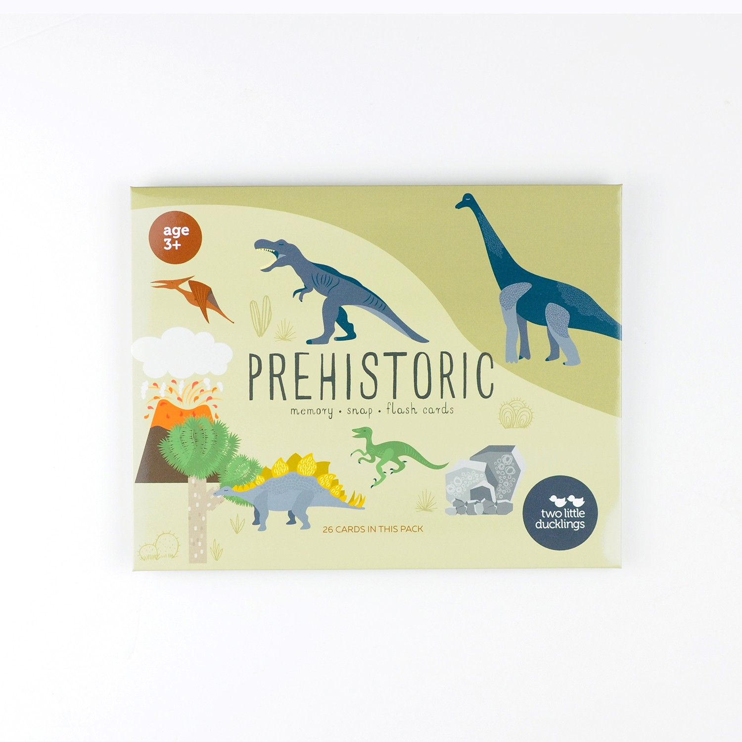 2LD Prehistoric Snap and Memory Game
