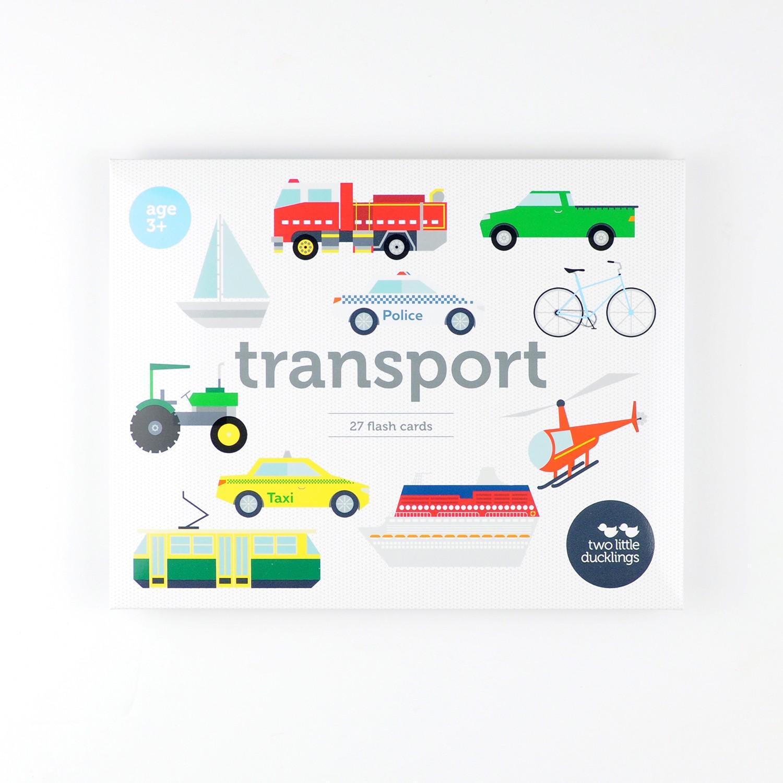 2LD Transport Flash Cards