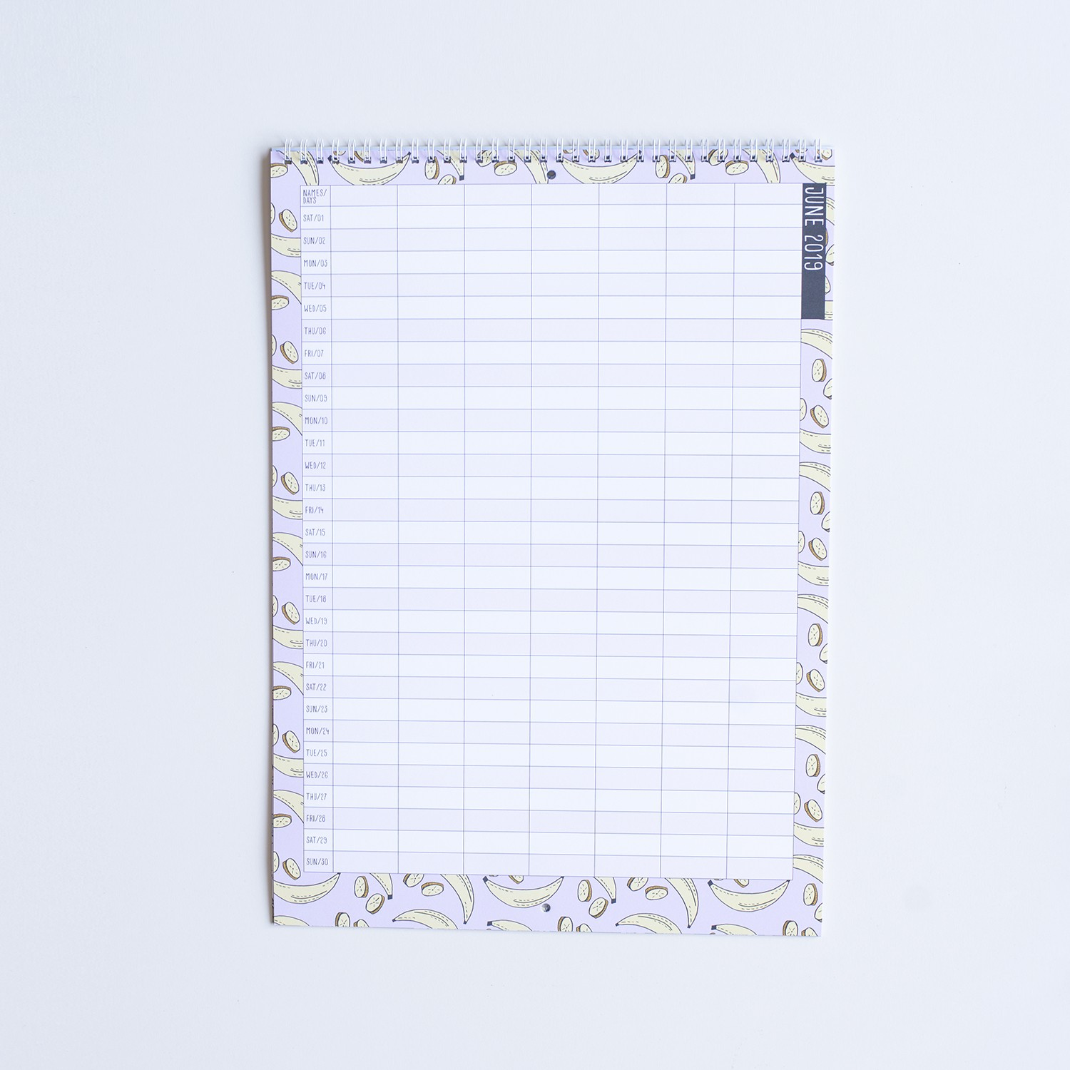 Household Planner Calendar 2019 Inside 2