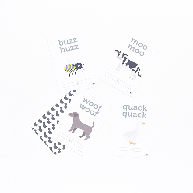 Animal Sound Flash Cards (Cards) DSC_6070