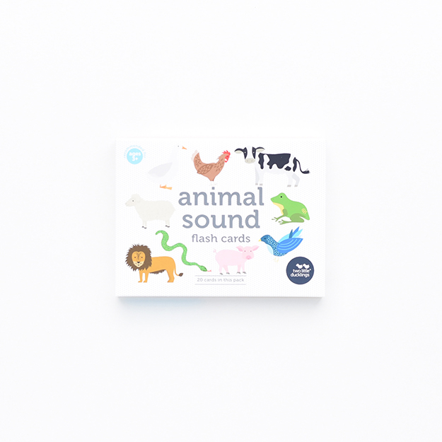 Animal Sound Flash Cards (Front) DSC_6024