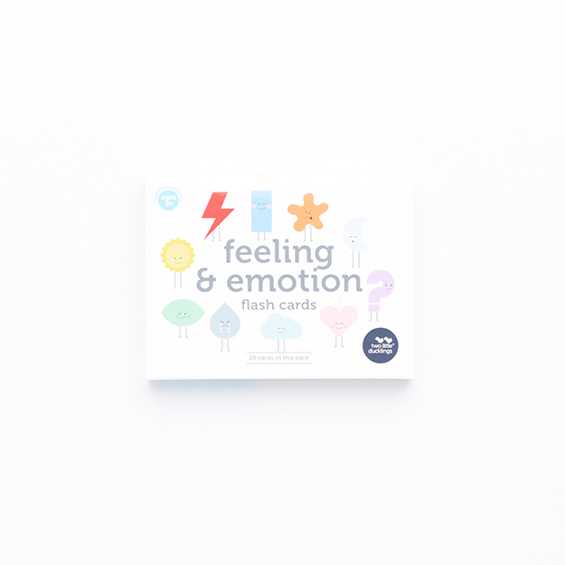 Feeling and Emotion Flash Cards (Front) DSC_6032